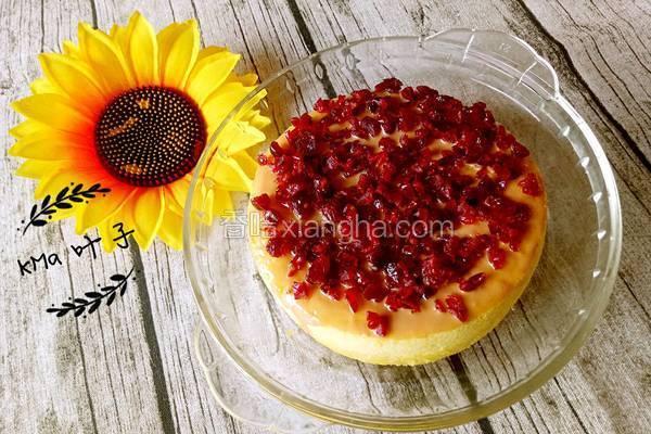 蔓越莓杏仁蒸蛋糕