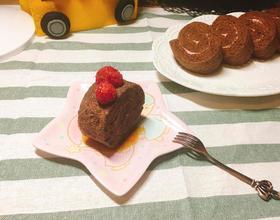 可可红莓蛋糕卷