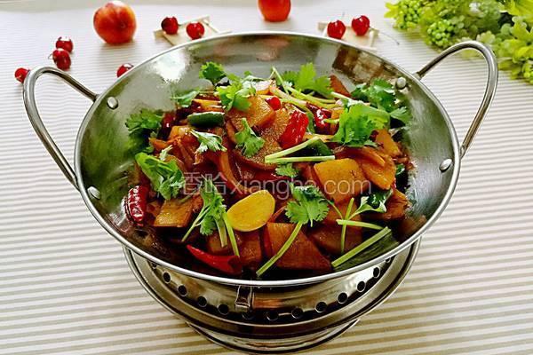 香辣干锅土豆片