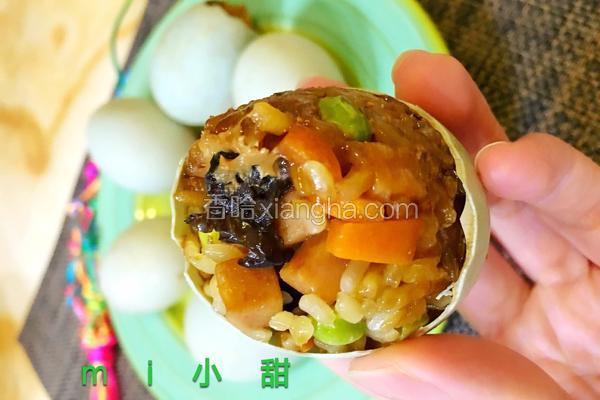 五彩糯米蛋