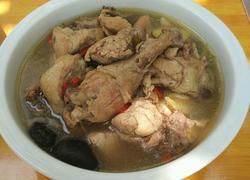 清炖香菇土鸡