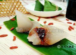 水晶西米粽子