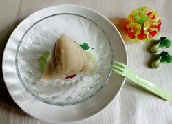 五香咸肉绿豆粽