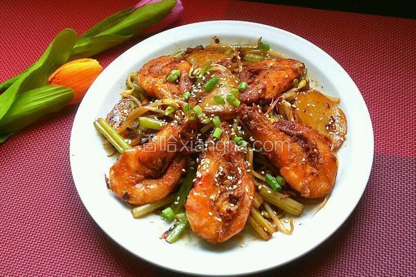 香辣干锅虾
