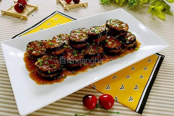 茄汁肉沫酿广茄