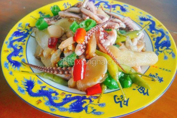 泡椒鱿鱼须