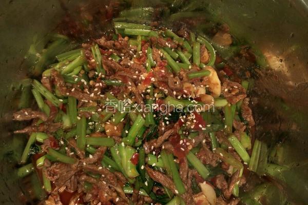 芥菜炒牛肉