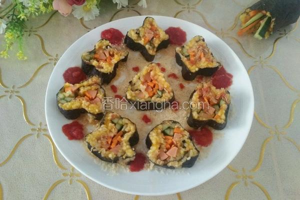 金瓜肉松寿司