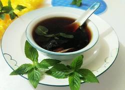 紫苏薄荷姜茶