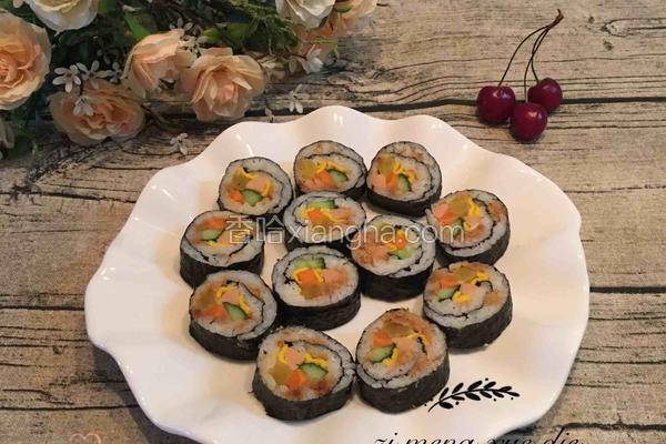 韩式自制寿司