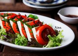 酸梅蔬菜色拉