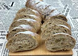 法式乡村果仁面包