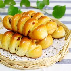 葡萄干小面包卷(中种)