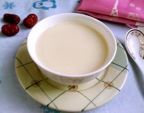 红枣燕麦豆浆[图]