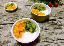 自制酸奶水果