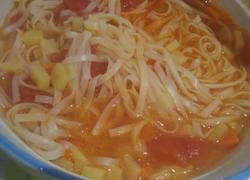 西红柿土豆面条