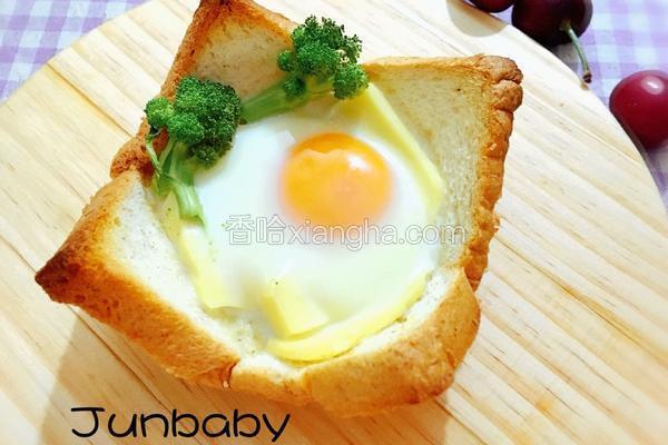 鸡蛋花型吐司