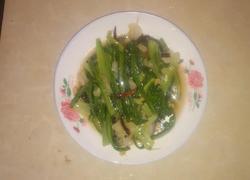 炒油麦菜!