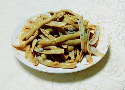 麻汁蒜泥拌芸豆