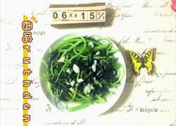 蒜香白苋菜