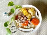 椰子玉米猪骨汤的做法[图]