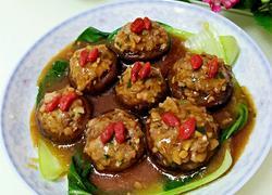 香菇酿肉和豆腐酿肉