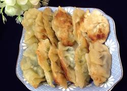 生煎韭菜饺子