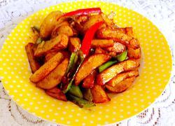 干煸香辣土豆条