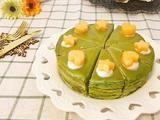 抹茶榴莲千层蛋糕的做法[图]