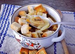 香烤法棍面包粒