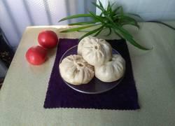 小油菜豆腐虾皮包子