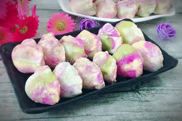 彩虹猪肉虾仁饺