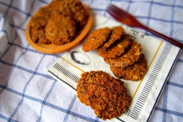 黑糖燕麦椰蓉饼干