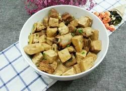 豆腐干烧排骨