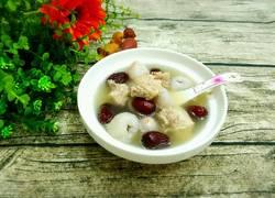 红枣荔枝排骨汤
