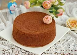 可可戚风蛋糕(八寸)