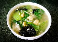 咸鸭蛋芥菜汤
