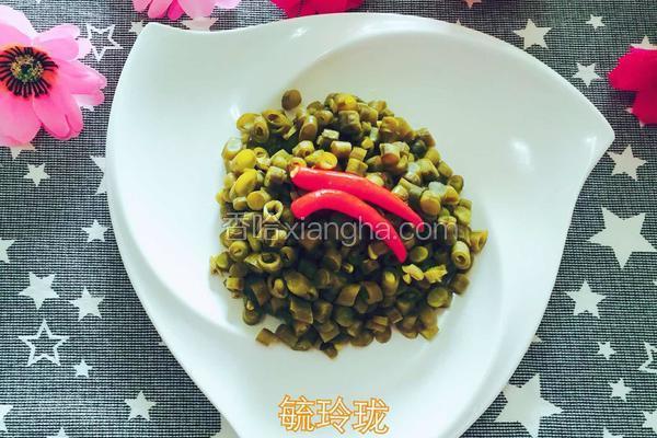 自制酸缸豆