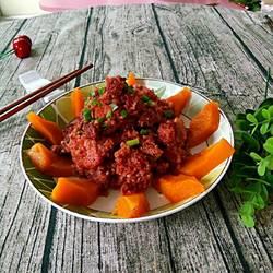 南瓜粉蒸肉的做法[图]