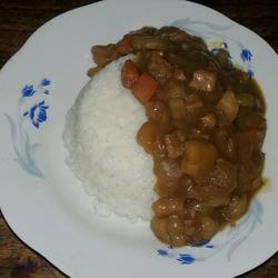猪肉咖哩饭