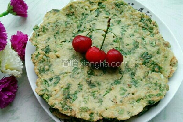 豆渣蔬菜饼