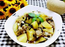 清蒸土豆排骨