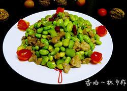 毛豆米肉丁