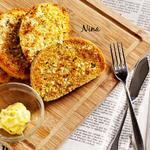 蒜香黄油烤馒头片