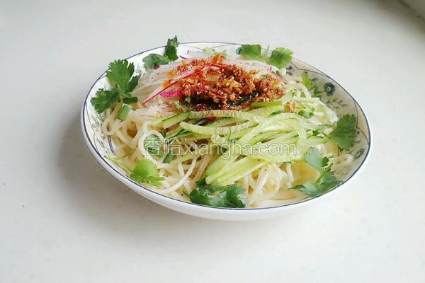 荣昌凉面(甜酸版本)