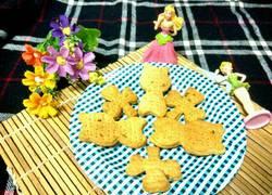 小熊葱香苏打饼干