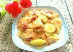 培根黄瓜烩大饼