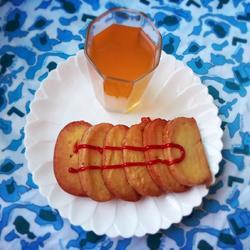 炸馒头片-果汁