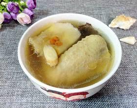 榴莲壳鸡汤