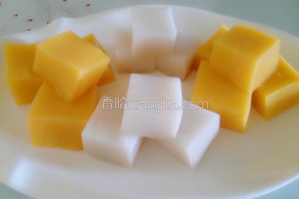 彩色皮冻(豆浆机版)